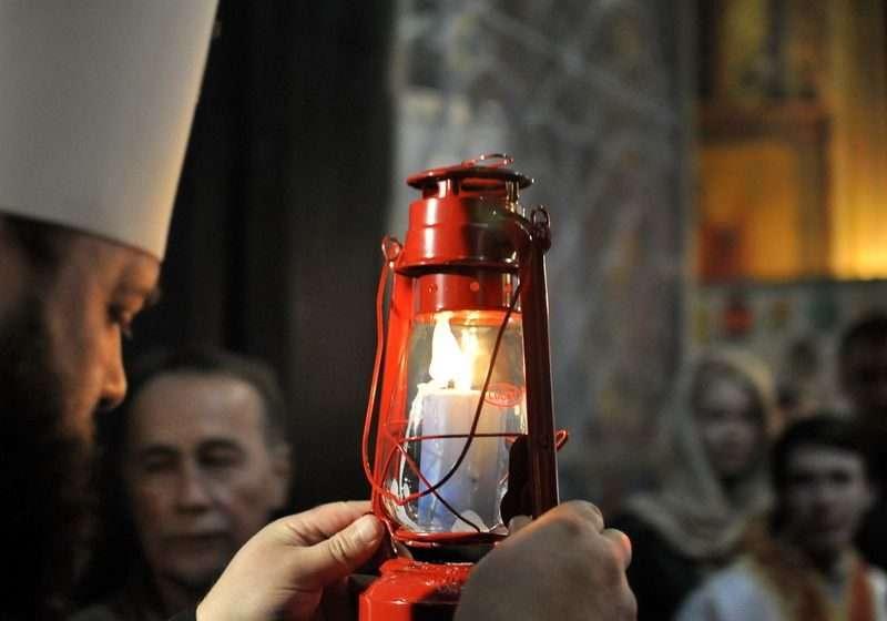 На Пасху в Волгоград доставят Благодатный огонь