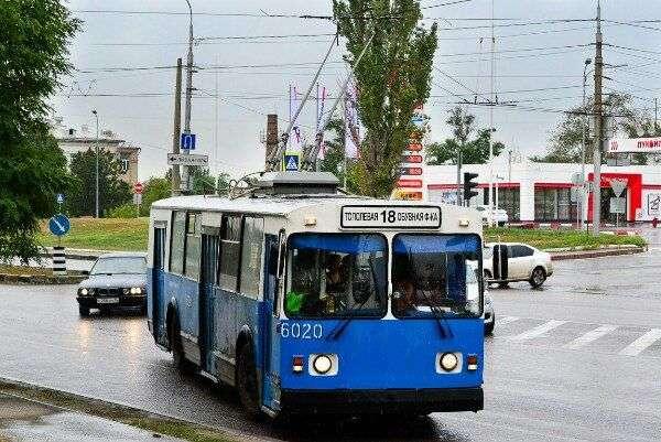 Волгоградцы прощаются с троллейбусом №18