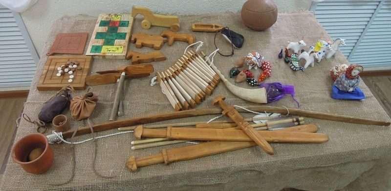 Волгоградцы смогут увидеть игры и игрушки Средневековья