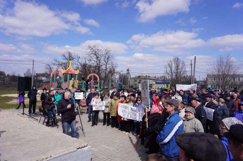 Потемкинская деревня имени Мундиаля: жители Гумрака вышли на митинг