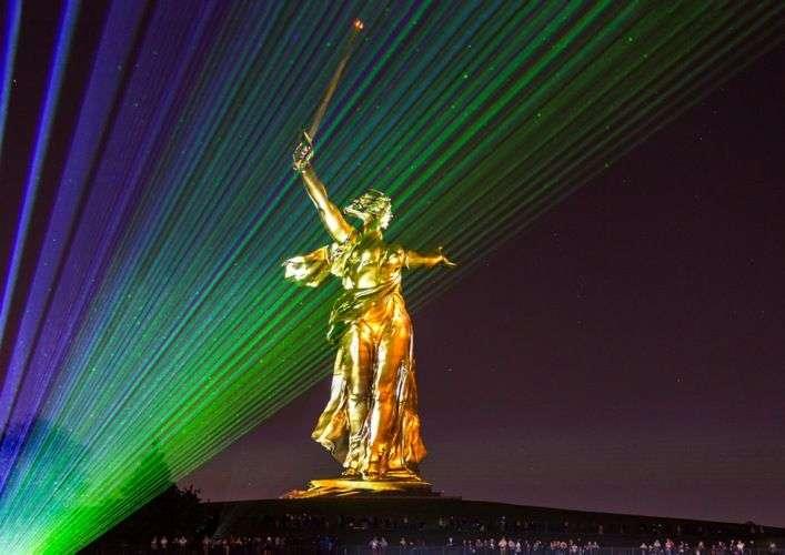 В Волгограде снова увидят «Свет Великой Победы»
