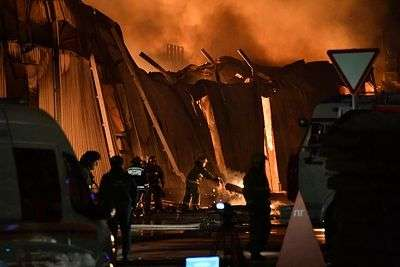 Под Волгоградом при пожаре обгорел мужчина