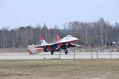В Бурятии разбился МиГ-31