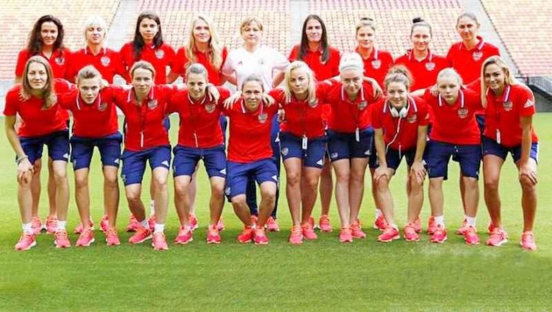 Россиянки готовятся к ЕВРО – 2017