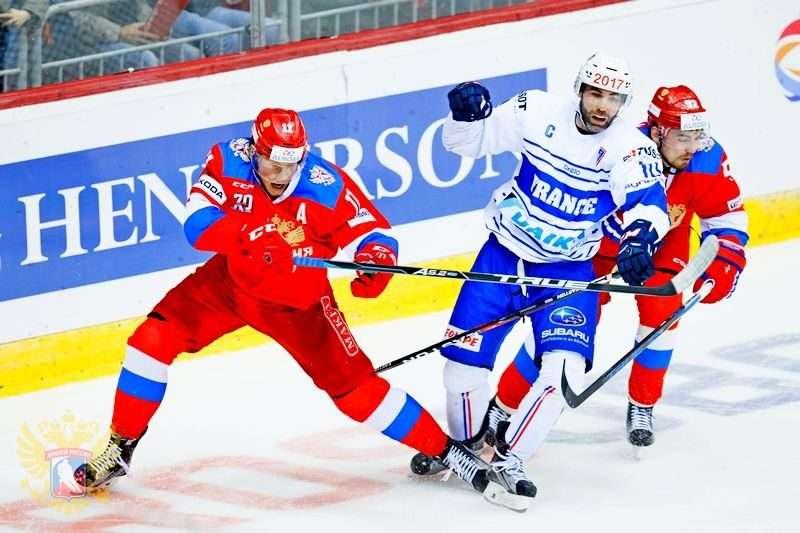 Российские «олимпийцы» разгромили французов