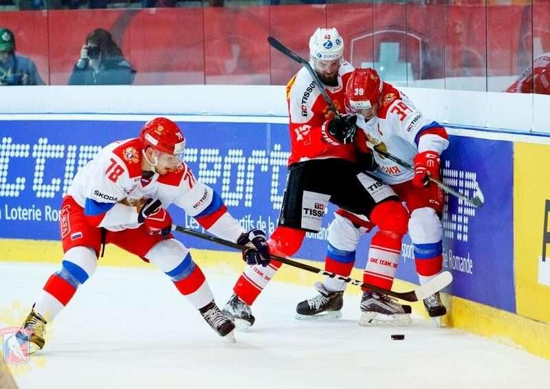 Российские «олимпийцы» уступили Швейцарии