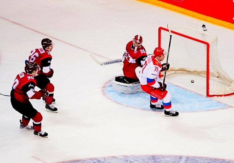 Команда Олега Браташа разгромила Латвию