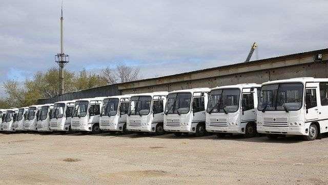 В Волгограде маршрут № 88 пополнился 18 новыми автобусами