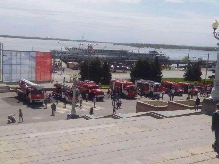Волгоградские огнеборцы отмечают 368 лет со Дня образования пожарной охраны России