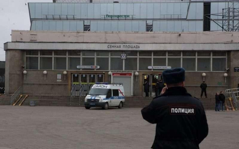 В Петербурге закрыли станцию Сенная площадь