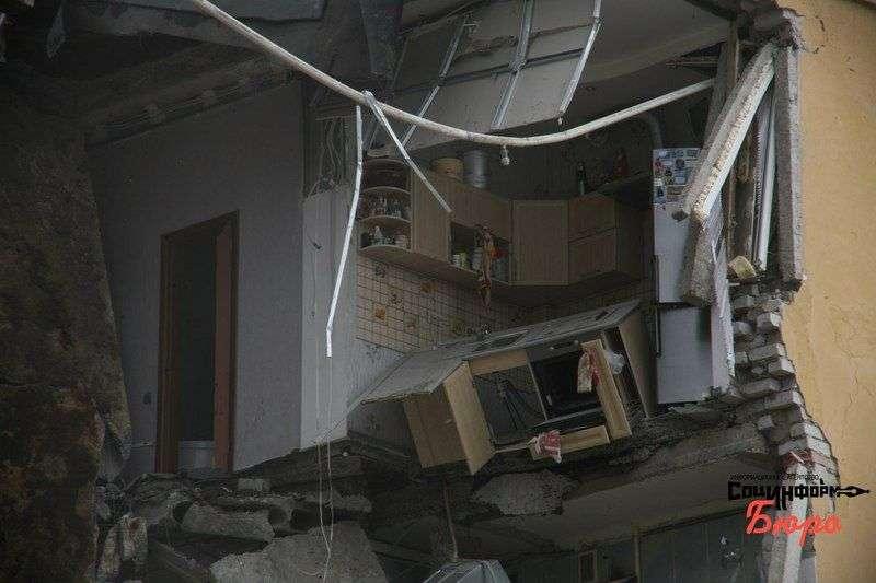 В Советском районе Волгограда взорвался жилой дом