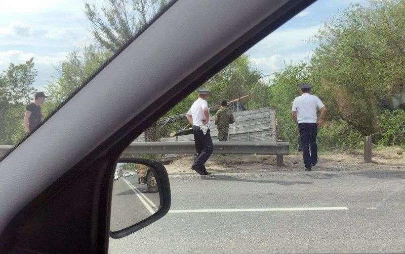 В Волгограде на 3-й Продольная образовалась километровая пробка