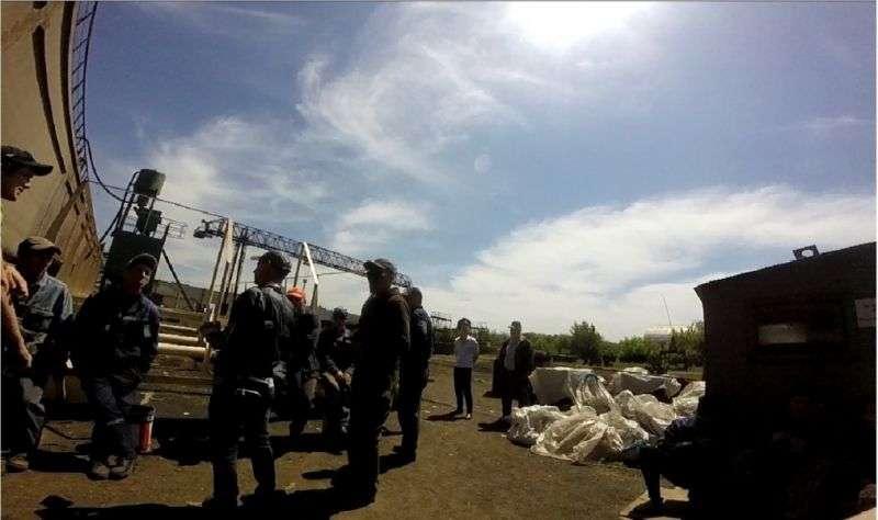 В Волжском задержали группу нелегалов из Украины
