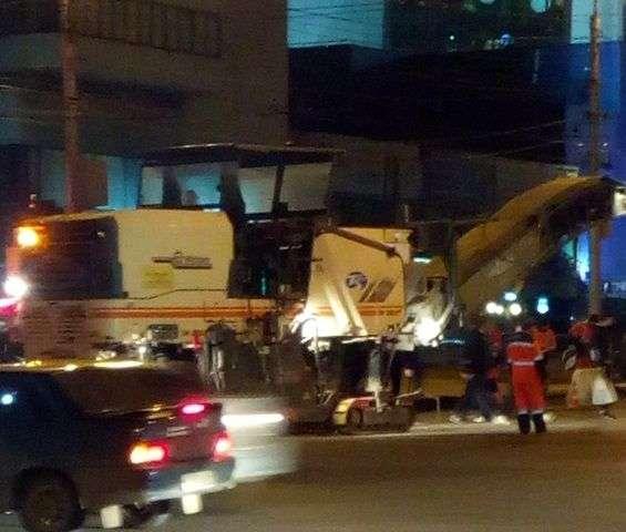 В Центральном районе приступили к ремонту Краснознаменской