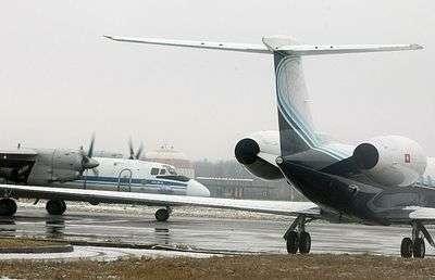 В Саратовской области упал самолет АН-26