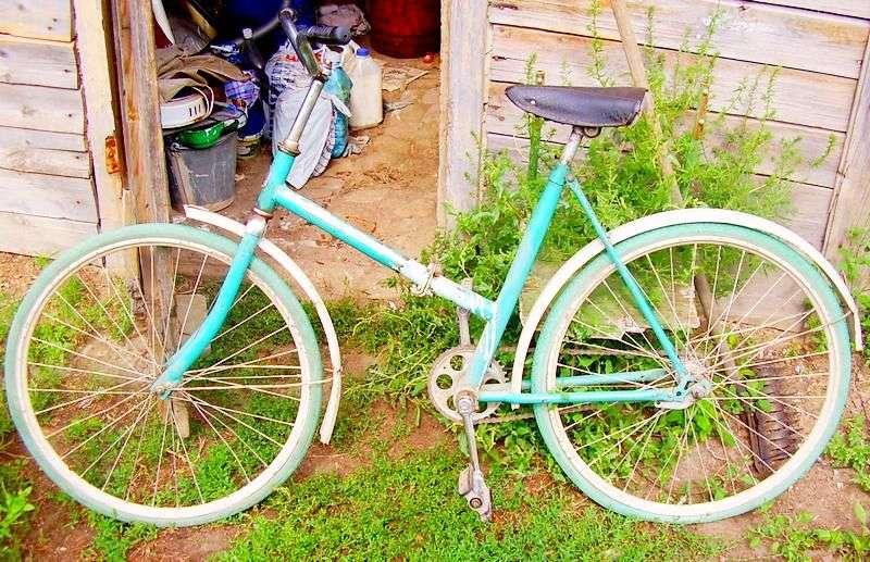 В Волгограде бомж угнал велосипед