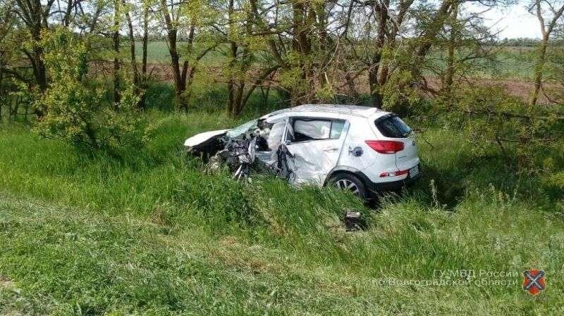 Под Волгоградом уснувший за рулем водитель устроил трагическое ДТП