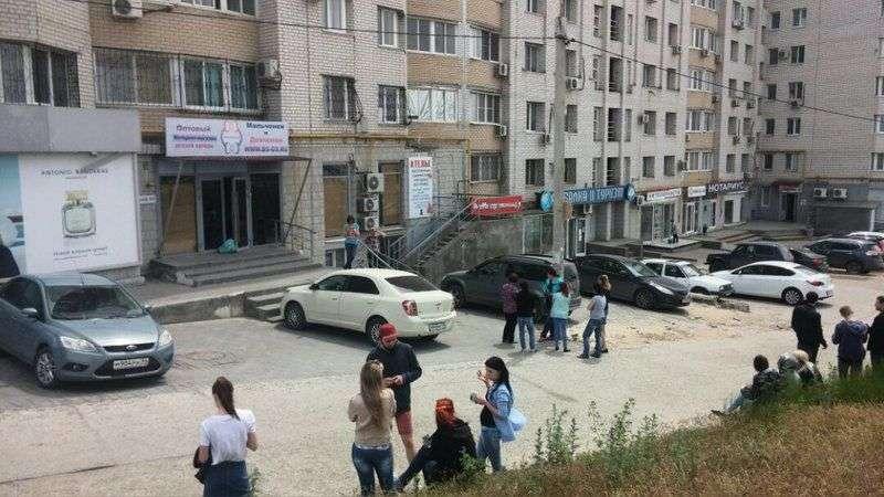 В Краснооктябрьском районе испугались утечки газа