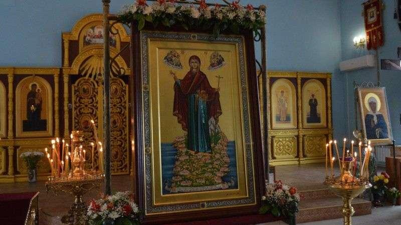 """В Волгоград прибывает икона Богородицы """"Экономисса"""""""