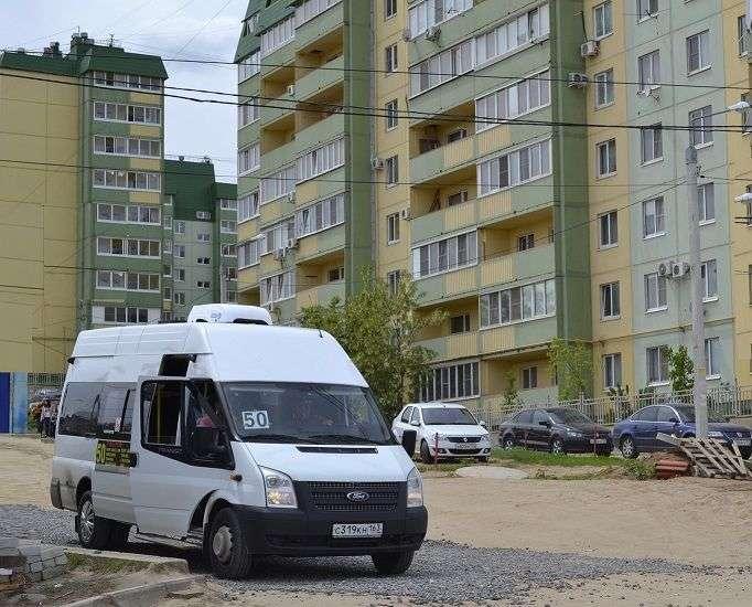 В Волгограде продлили маршрут №50