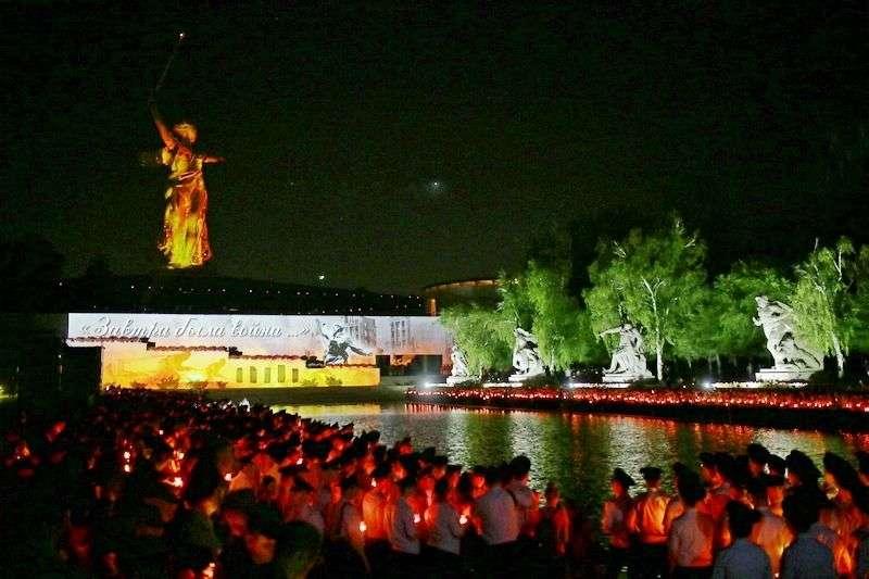 В Волгограде прошла акция «Завтра была война»