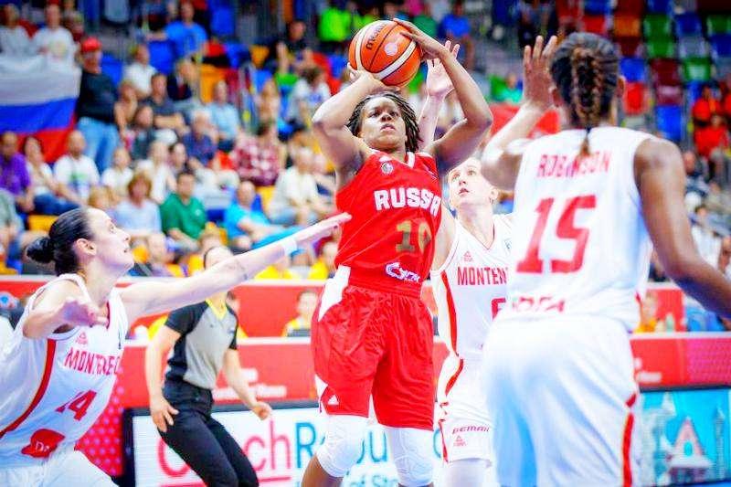 Россиянки вышли в плей-офф «Евробаскета – 2017»