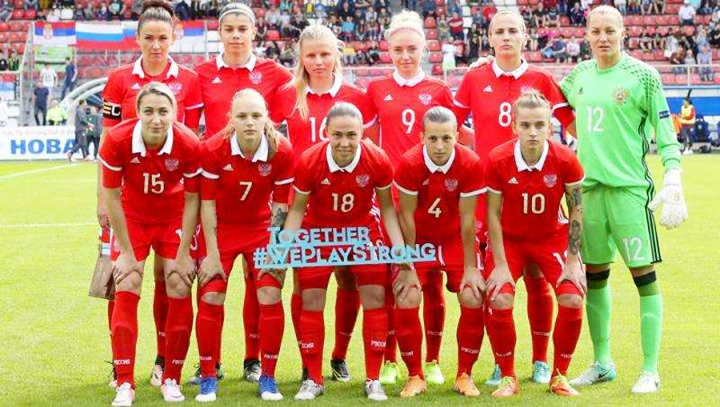 Женская сборная России 25-я в рейтинге ФИФА