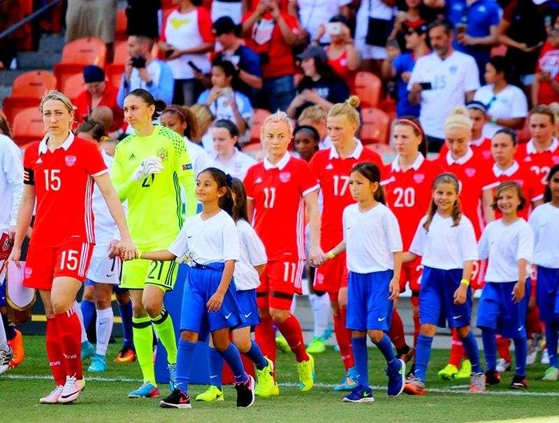 Женская сборная России дважды сыграет с Сербией