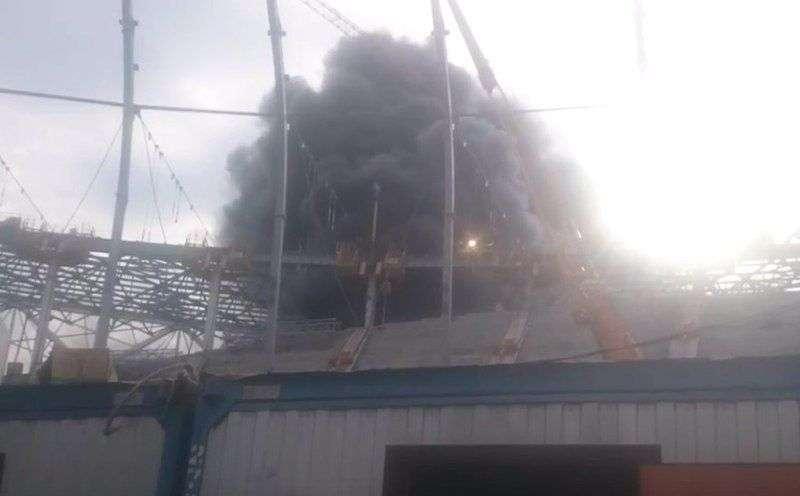 """Причину пожара на стадионе """"Волгоград Арена"""" установят в течение 10 дней"""