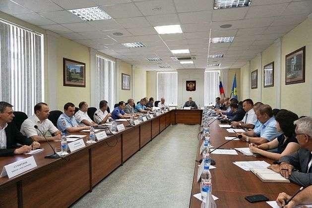 В Волгограде обсудили антитеррористическую защиту объектов для проведения ЧМ-2018