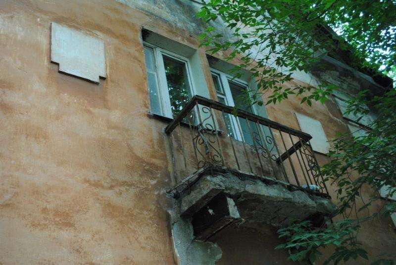 Волгоградская управкомпания снова забыла починить балконы