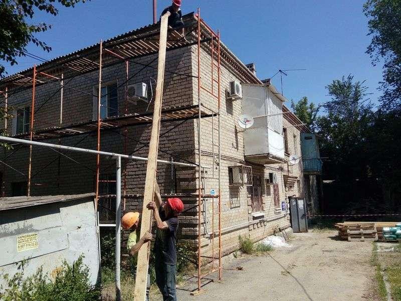 В Волгограде кое-где начался капремонт