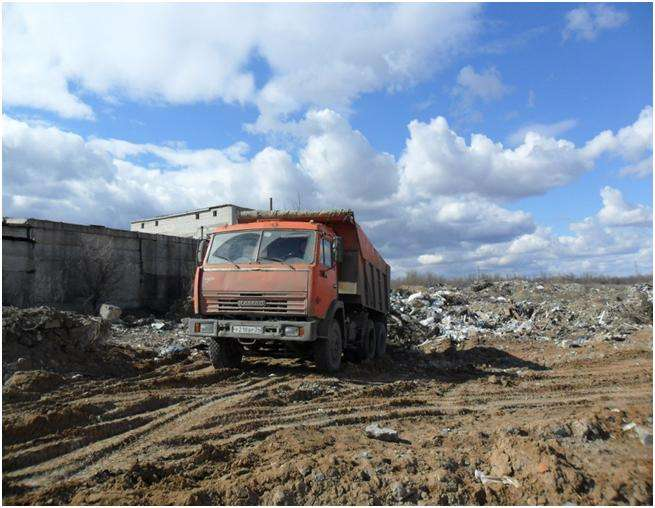 В Волгоградской области подвели итоги рейдов по перевозкам мусора