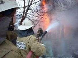 В Киквидзенском районе за ночь сгорели два дома