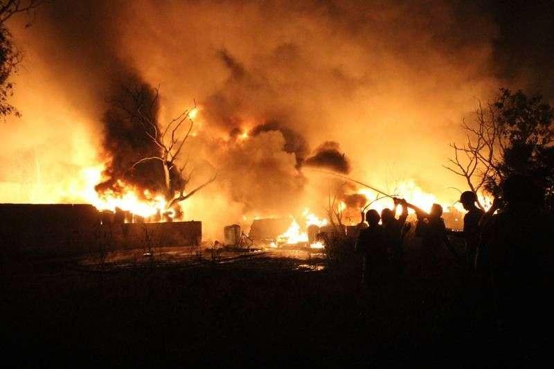 В регионе при пожарах пострадали двое волгоградцев