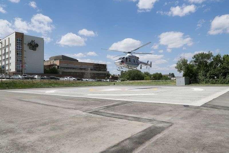 В Волгоградскую область прибыл арендованный вертолет санавиации
