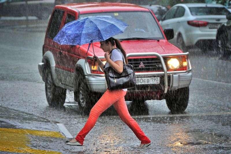 В Волгограде рабочая неделя начнется с дождей