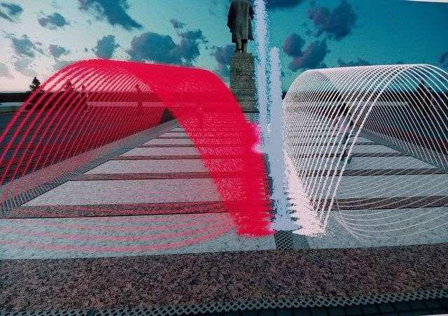 В Красноармейском районе откроют новый пешеходный фонтан