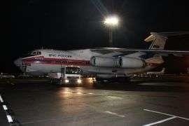 В Волгоград ночью прибыла авиация МЧС России