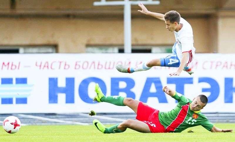 Россия U-16 разгромила Болгарию. Видео