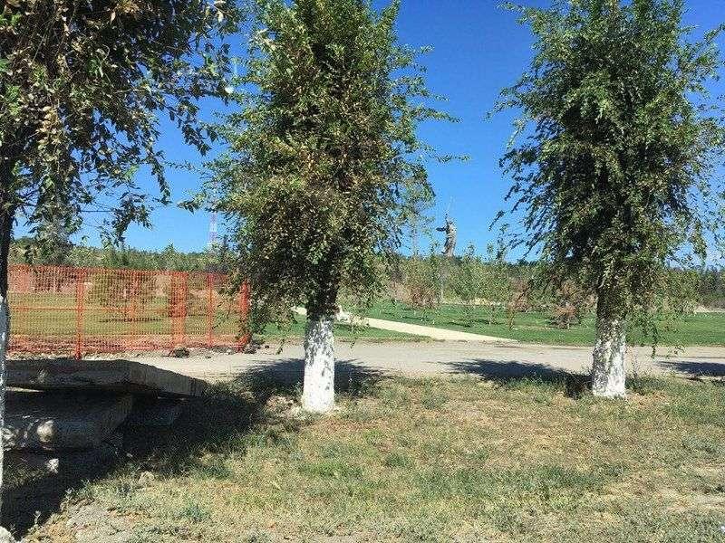 Поздней осенью на Мамаевом кургане появится фонтан за 23 миллиона рублей