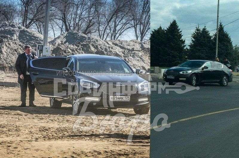 Машина губернатора Андрея Бочарова попала в ДТП