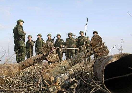 На полигоне Прудбой взорвали 300 снарядов, мин и гранат