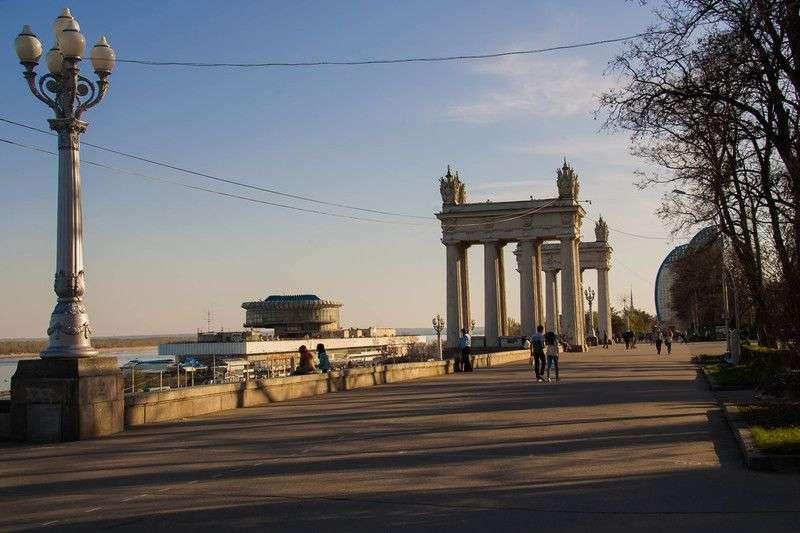 В Волгограде начались празднования Дня города