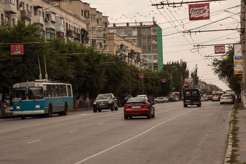 Центр Волгограда начнут перекрывать для проезда уже в пятницу