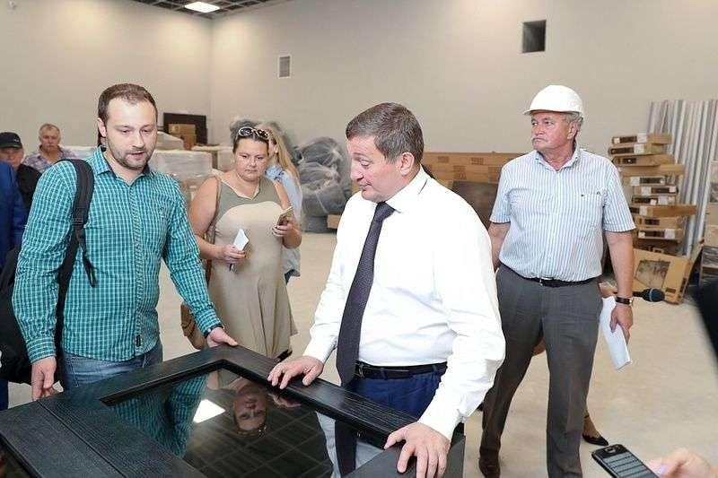 В музее «Россия. Моя история» начали установку интерактивных экранов