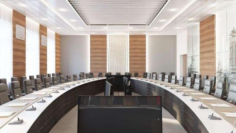 Областным депутатам обновят зал заседаний почти за 5 миллионов рублей