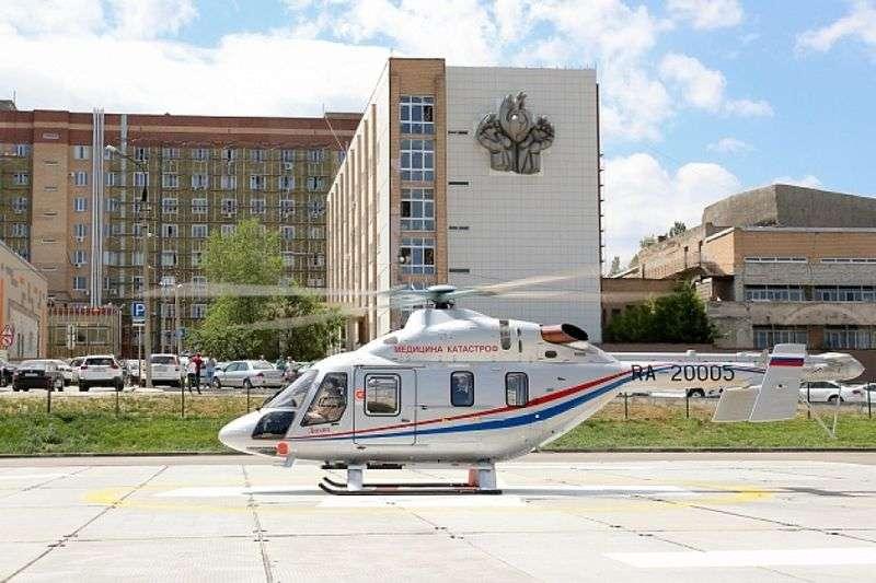 В регионе арендованному вертолету скорой помощи осталось отлетать 113 часов