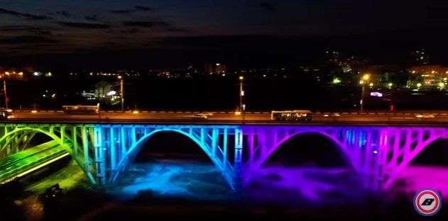 В Волгограде Астраханский мост засветится 5 октября