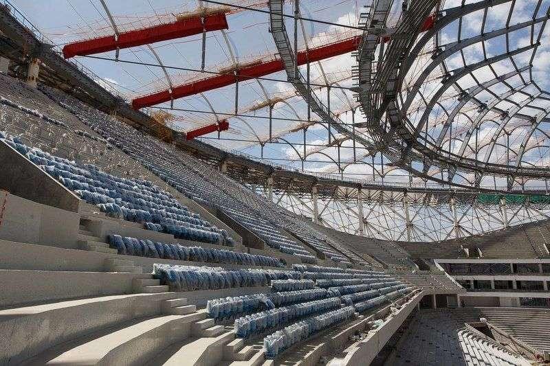 Рабочих для стадиона «Волгоград-Арена» ищут по социальным сетям